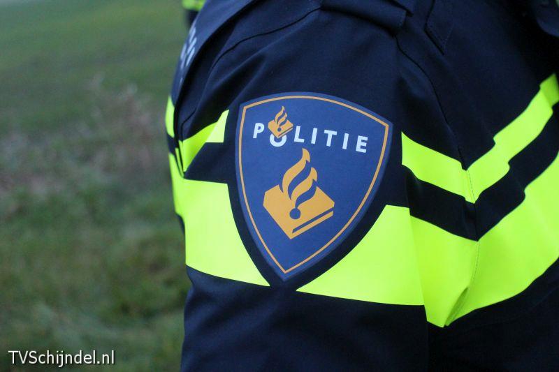 Politie schouder