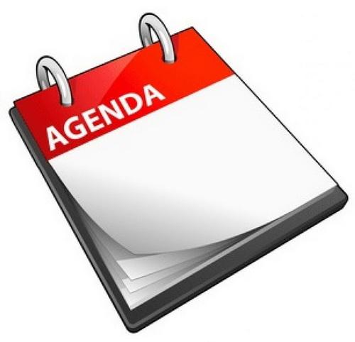 agenda doorgeven