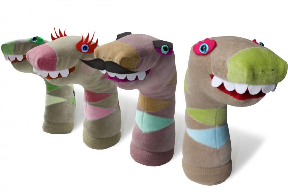 Uitzonderlijk Knuffels van sokken maken in ruil voor verhaal of belevenis Jansen @SH22