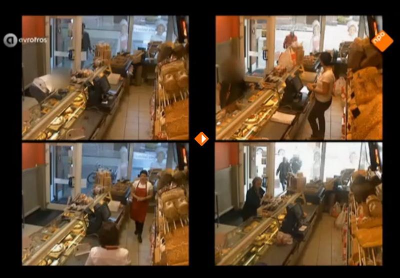 Gluren bij de buren met IP-camera\'s, o.a. bij Bakkerij Bekkers ...