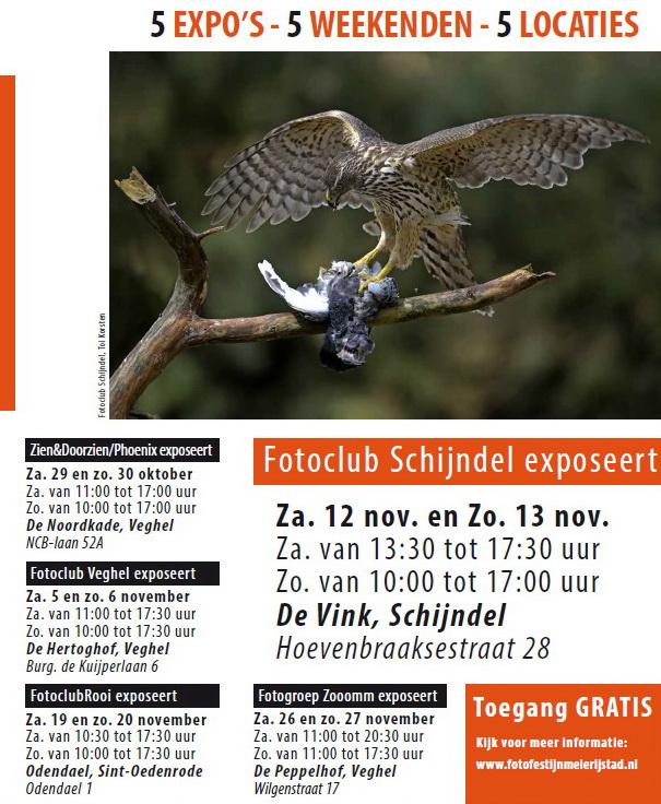 Fotofestijn Meierijstad 2016 flyer