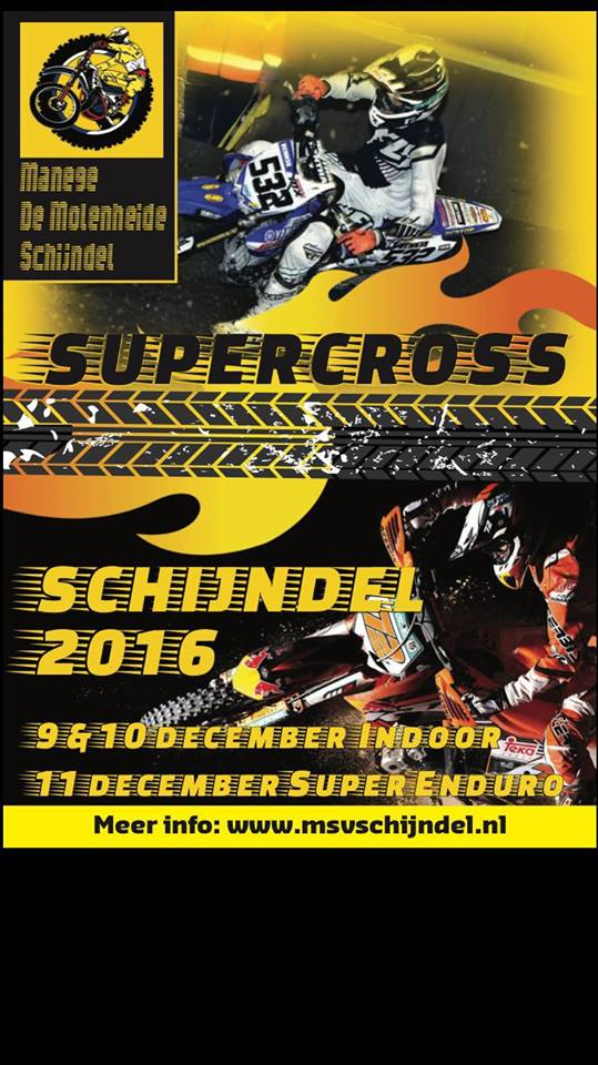 motorcross MSV Schijndel flyer