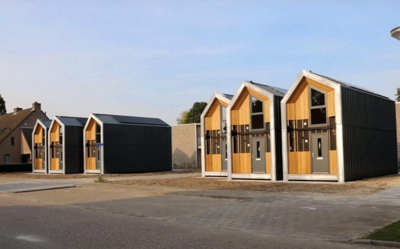 Schijndel heeft als eerste in brabant heijmans one woningen for Verplaatsbaar huis