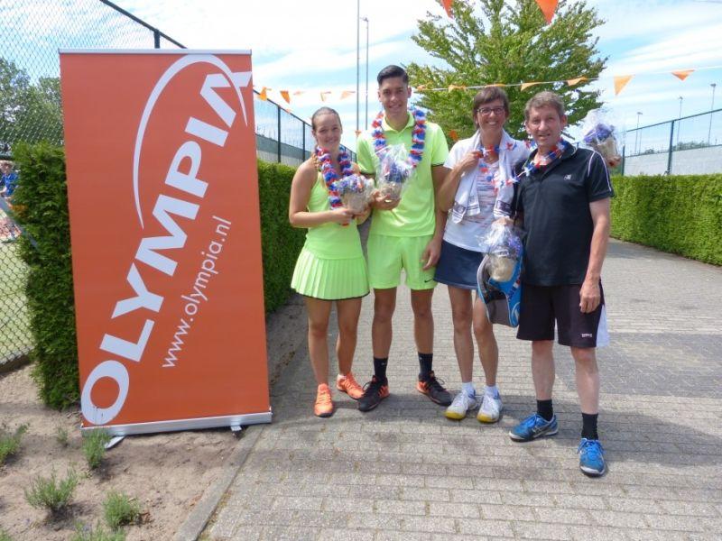 Tenniskampioenschap tv de Hopbel 2017