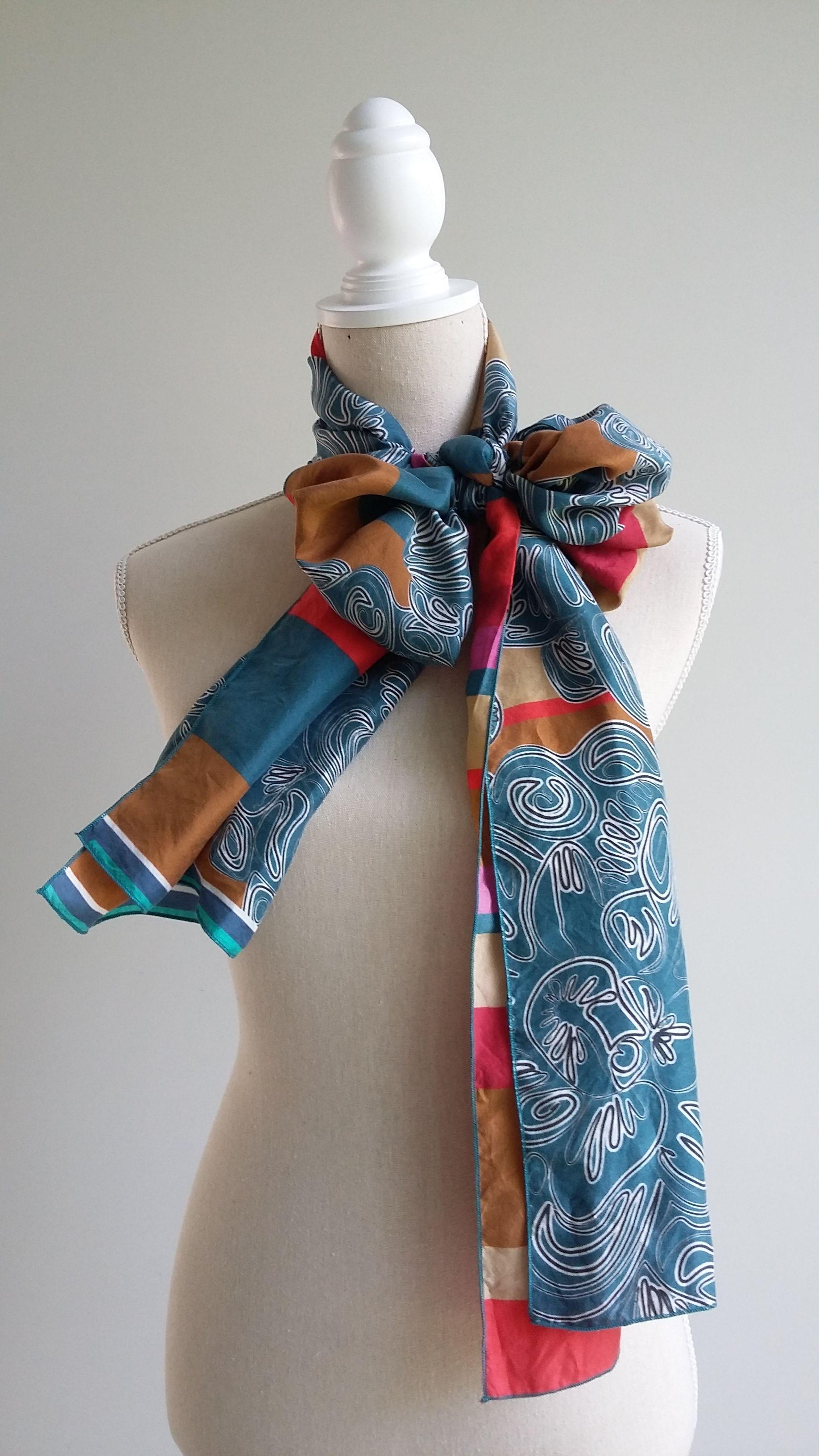 Zijden shawl Bianca van der Linde 1
