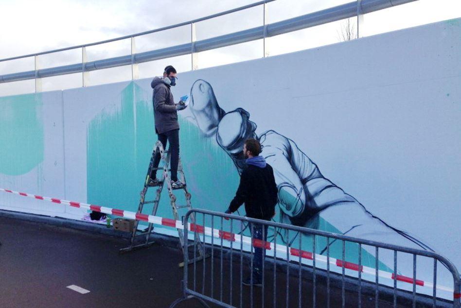 graffitikunstwerk