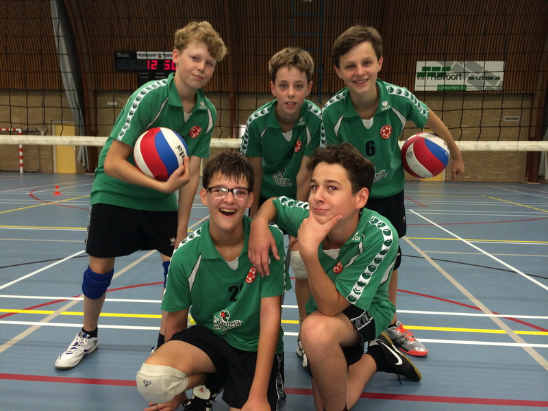 C-team volleybal