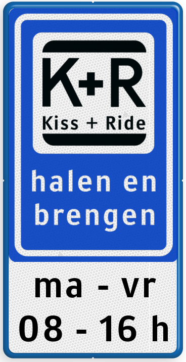 Parkeerverboden En Kiss Ride Zone In De Cornelis Trompstraat