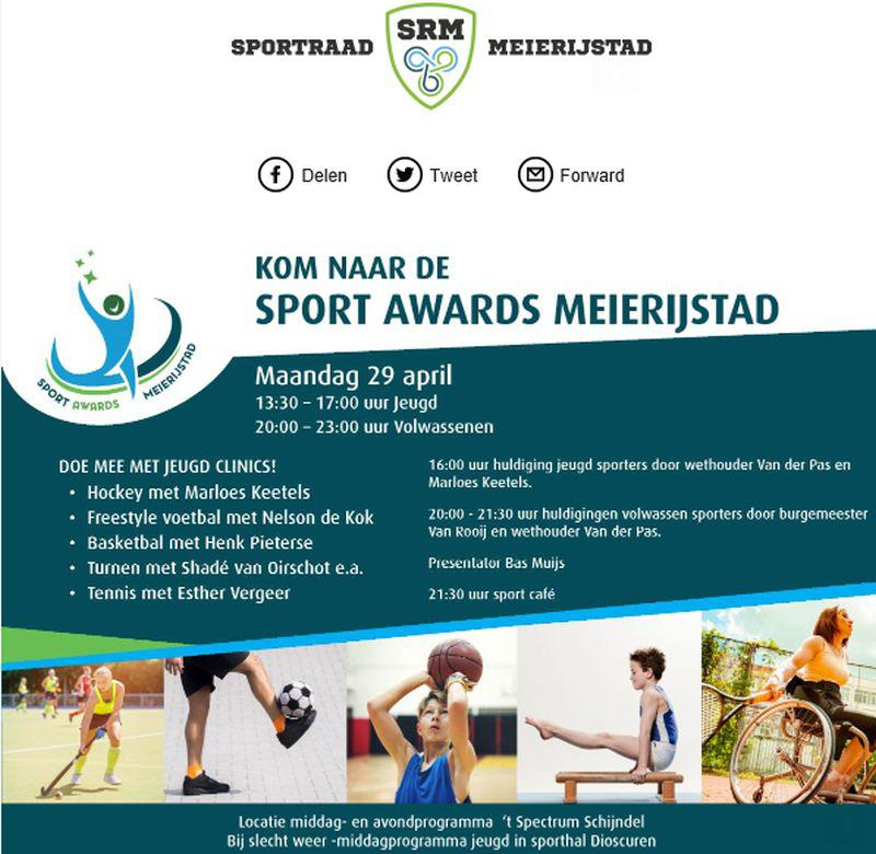 sport awards Meierijstad