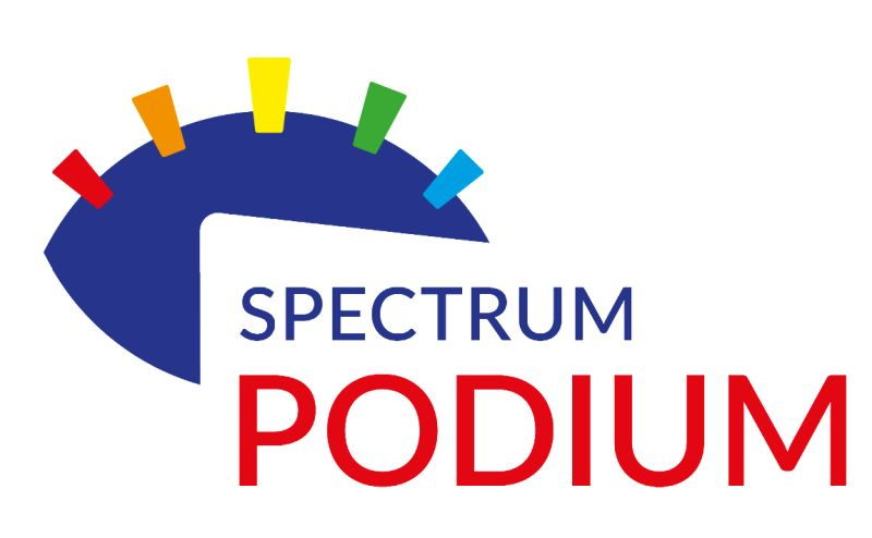 logo spectrum podium